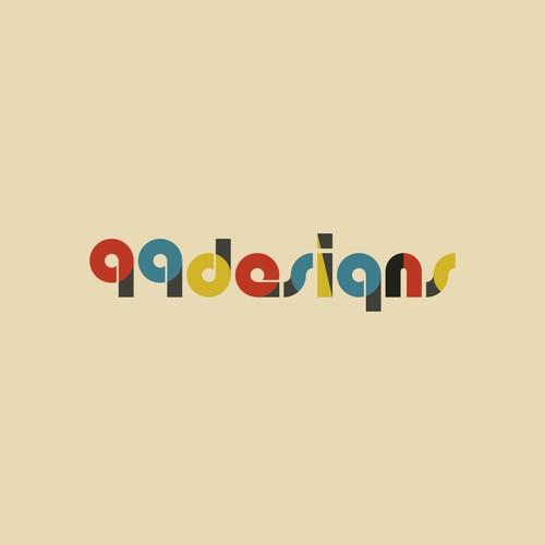 Community Contest | Reimagine a famous logo in Bauhaus style Design by gaeah