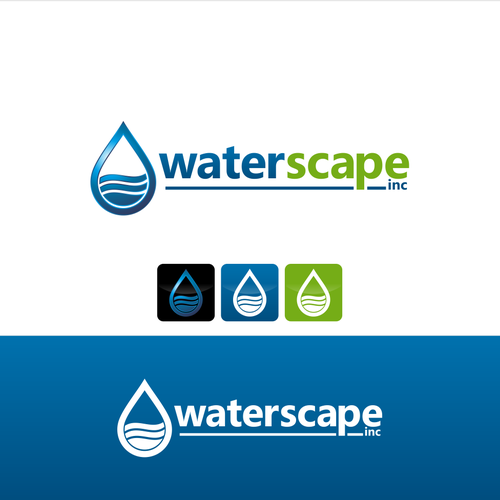 create a clever current logo design for waterscape inc logo design contest 99designs 99designs