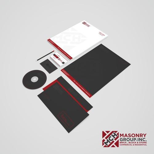 Modern masonry company looking for unique designs | Logo ...