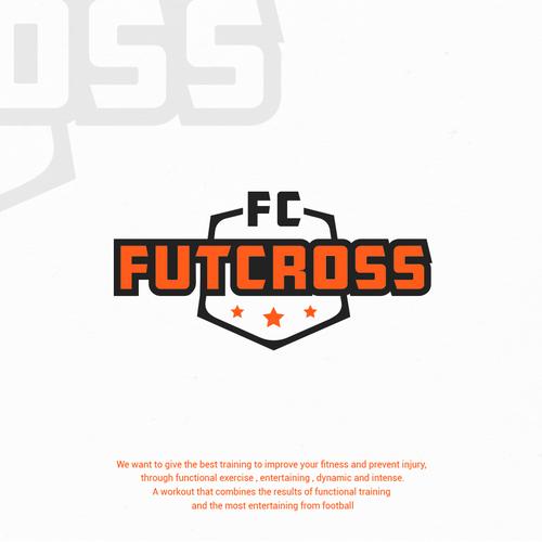 futcross functional training and football pro concurso logo site
