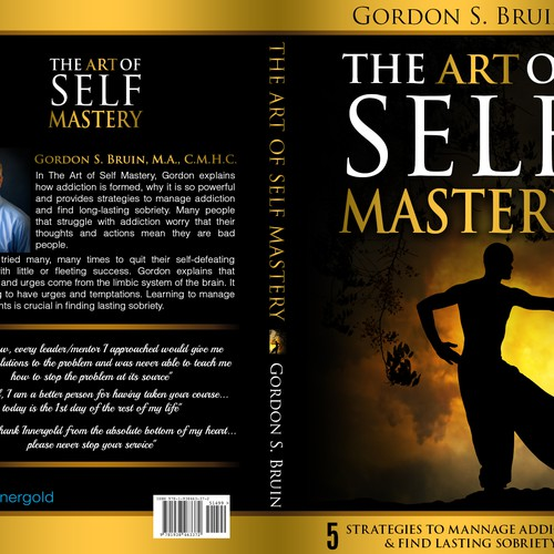 Book Cover Art Contest : The art of self mastery addiction education and treatment