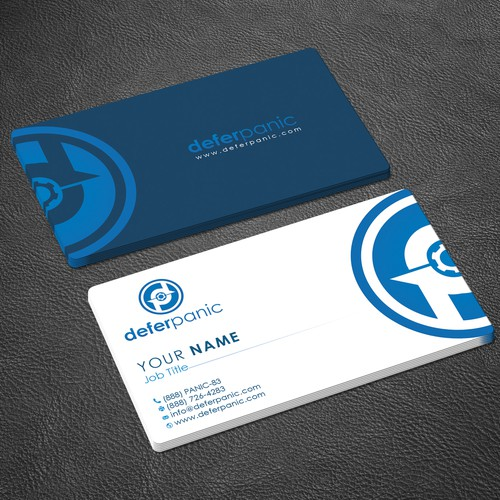 Need great professional business cards for deferpanic business runner up design by zayden reheart Choice Image