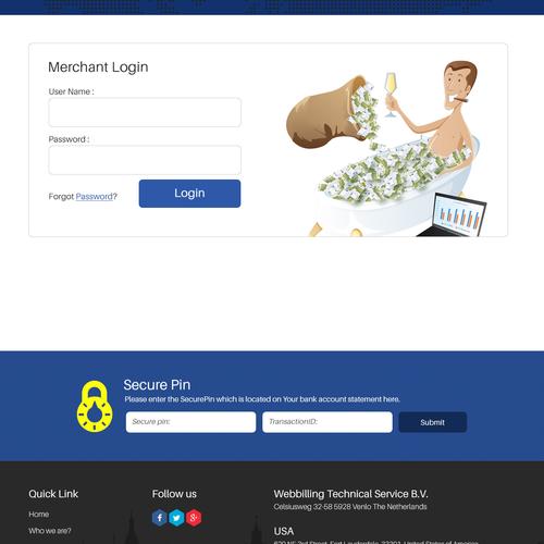 Diseño finalista de Pixelwebcreation