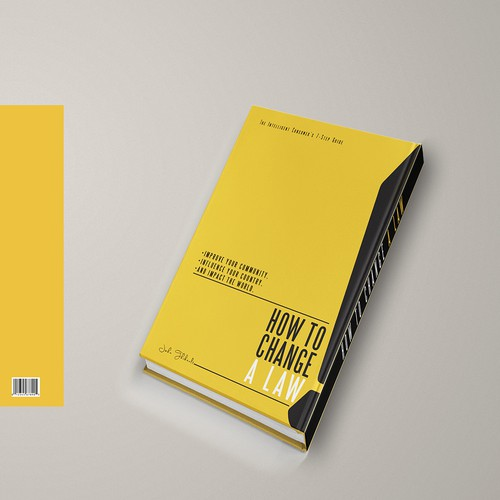 Law Book Cover Design : Create a compelling book cover for how to change law