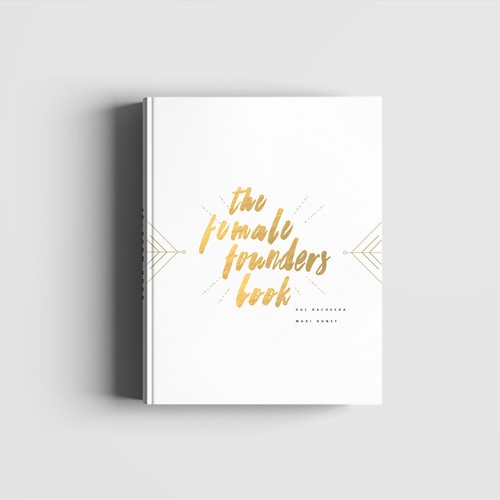 Minimal, beautiful & modern book cover design needed for the Female Founders Book Design von María Vargas