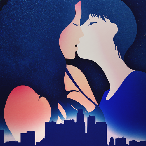 Create a cover for a light-hearted romance novel Design by Paulo Duelli
