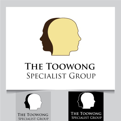 Logo and business card for a psychiatrist and practice logo runner up design by 2doo colourmoves