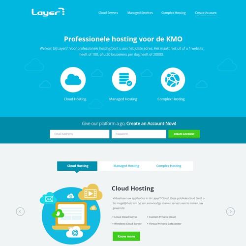 Diseño finalista de web kga