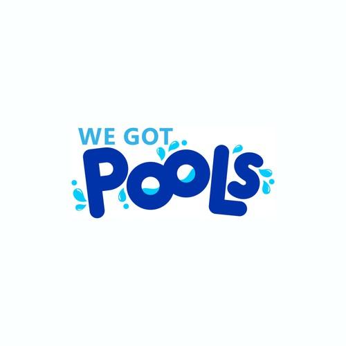 Swimming Pool Company Logo Design Logo Design Contest 99designs