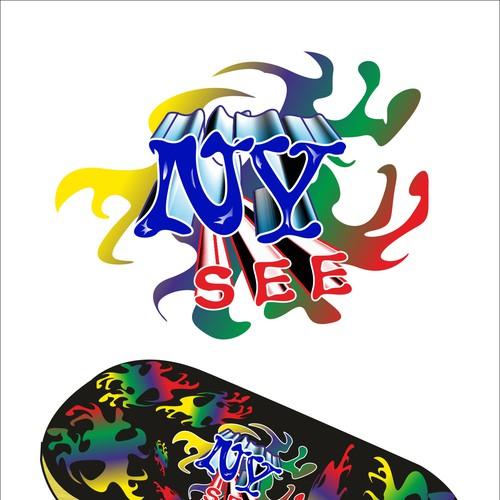 Runner-up design by KDana