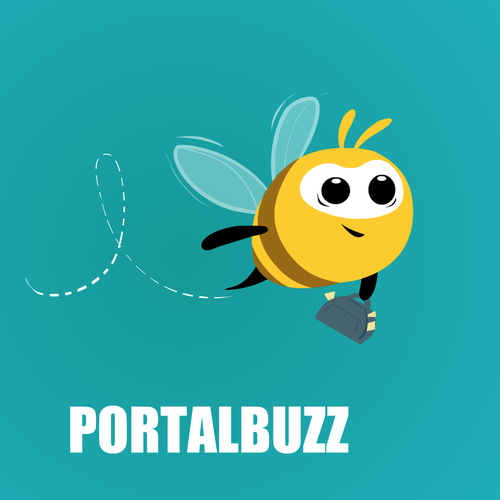 Create a bee mascot for Portalbuzz ad campaigns Design by Manoj Kharade