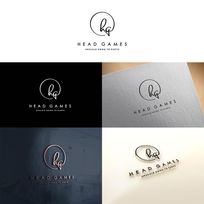 Fun Logo Design For Upscale Down To Earth Salon And Spa