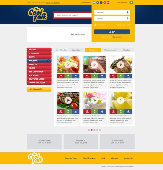 Gewinner-Design von NEX Creative