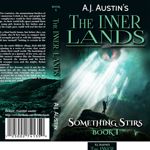 Book Cover Design Needed : Book cover design for the inner lands further covers