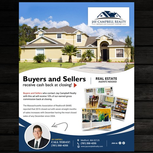 real estate ad flyer