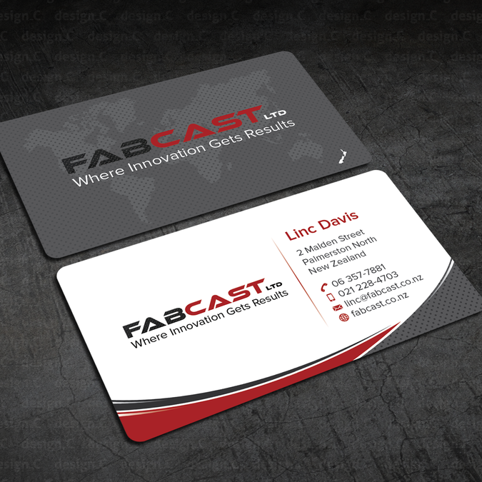Fabcast business card business card contest for Freelance business cards