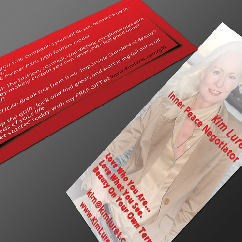 Business card design for woman motivational speaker stationery contest runner up design by stong colourmoves