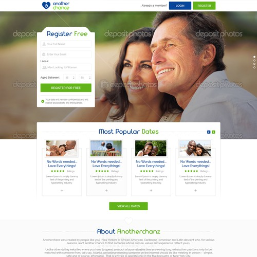 Dating site for african americans over 50