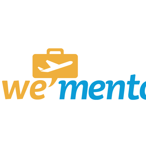 wemento online travel network needs a new logo logo