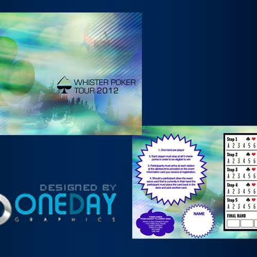 Runner-up design by One Day Graphics