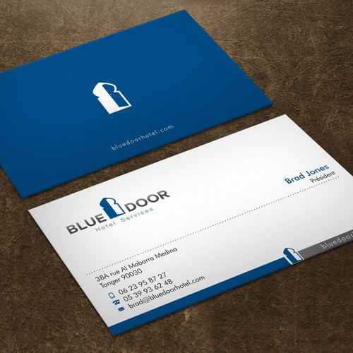 Design a good looking business card with existing logo business runner up design by xclusive16 colourmoves