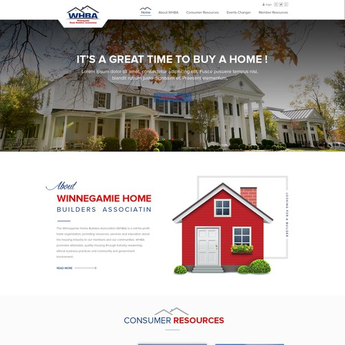 Informative, Interactive Website For Home Builders