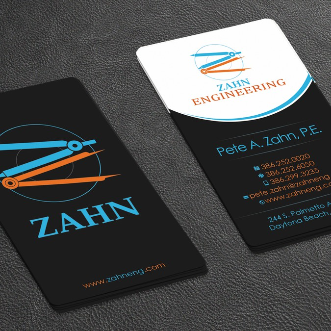 Engineering Firm Looking For Cool Professional Business Card Design