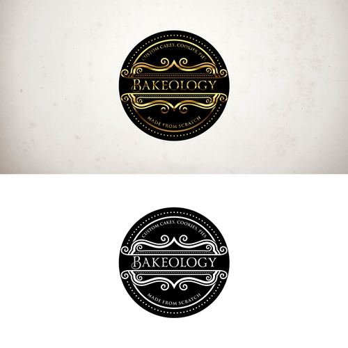 Classy Sophisticated Logo For Custom From Scratch Bakery