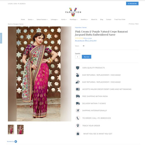 Diseño finalista de Rohit Rajput
