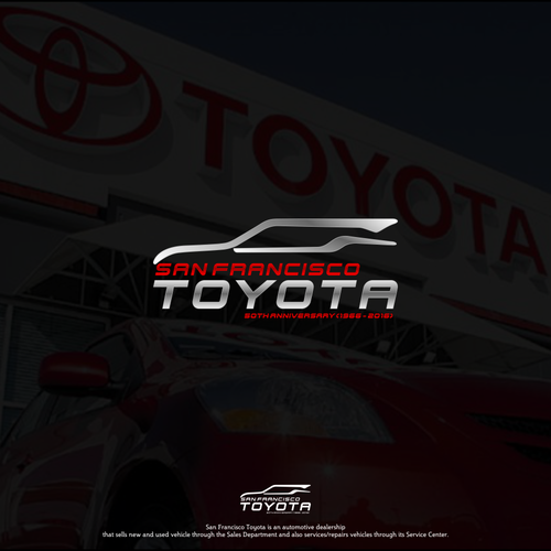 San Francisco Toyota Service >> Create An Innovative Logo For One Of America S Top Toyota