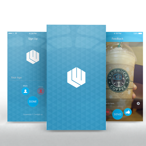 Runner-up design by UX & Code