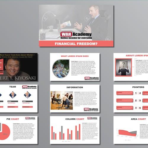 Runner-up design by Presentation Deck
