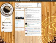 Twitter background design by Skitnyk