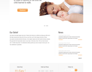 Custom wordpress theme design by puremate