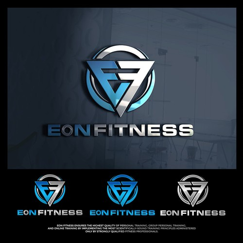 Design A Brand New Logo For Eon Fitness Training Studio Online