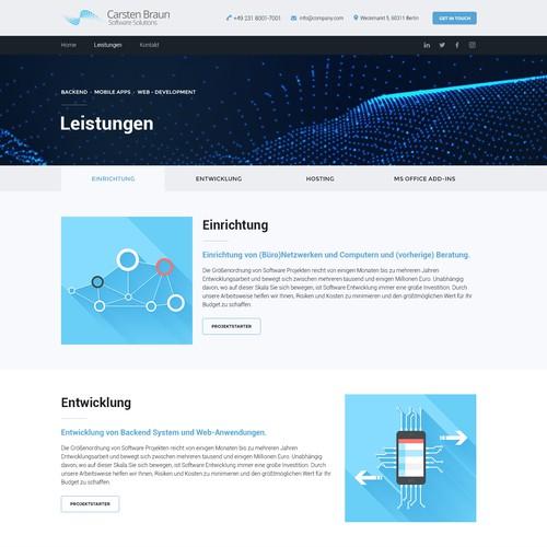 Runner-up design by LouisDesign