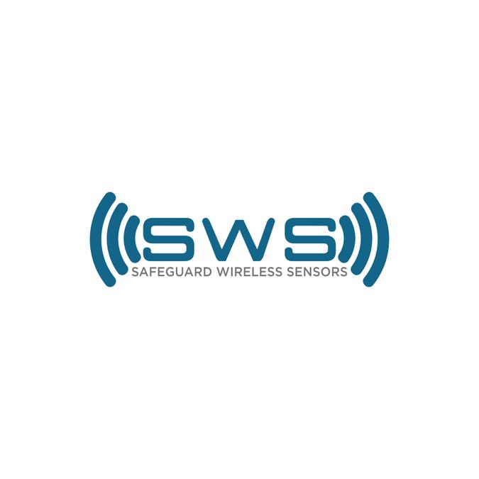 high tech logo for wireless sensor company logo design contest