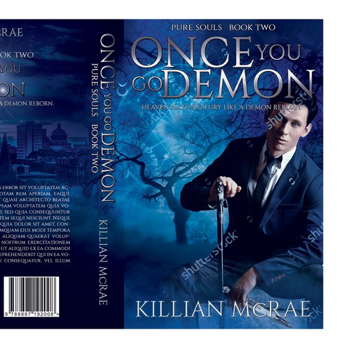 Paranormal Romance Book Cover Design : Paranormal romance series second book cover contest
