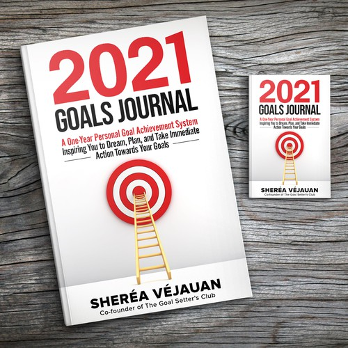 Design 10-Year Anniversary Version of My Goals Journal Design by Sam Art Studio
