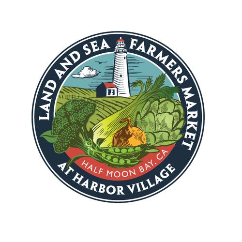 Create the next logo for Land & Sea Farmers Market at Harbor