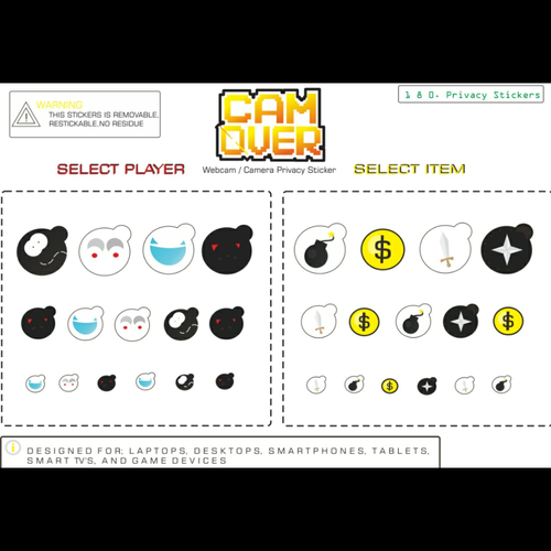 Webcam / Camera Privacy Stickers | Sticker contest