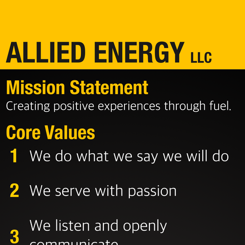 Create The Most Hippest, Modern Fuel Mission Statement
