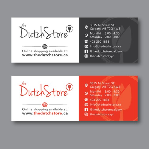 Print Ad for The Dutch Store | Postcard, flyer or print contest