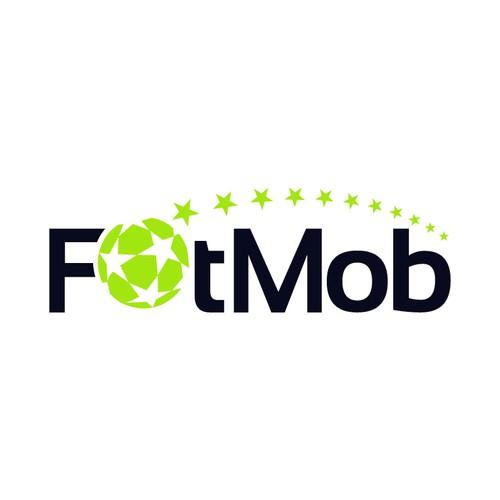 ✰ Clean, sport & slick football/ soccer related logo for