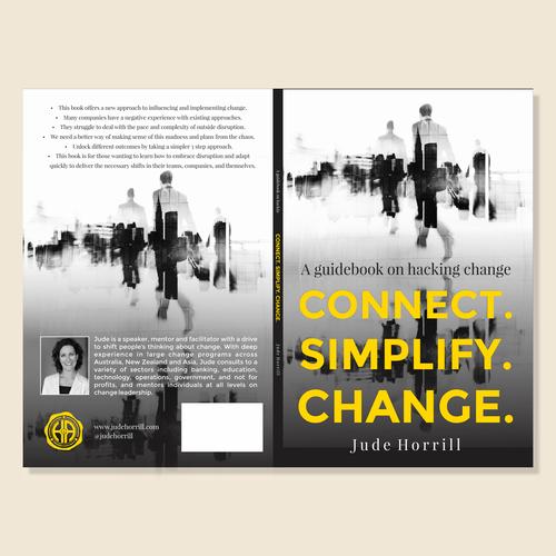Design di Book cover for disruptive thinker di Arbëresh®