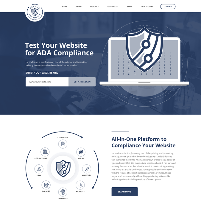 Winning design by SAI Web
