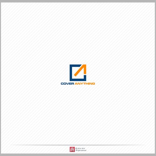 create a clever logo with hidden symbolism for coveranything com