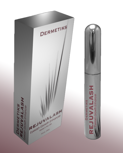 product packaging for Brand name: Dermetics  Product name: Rejuvalash | Product packaging contest