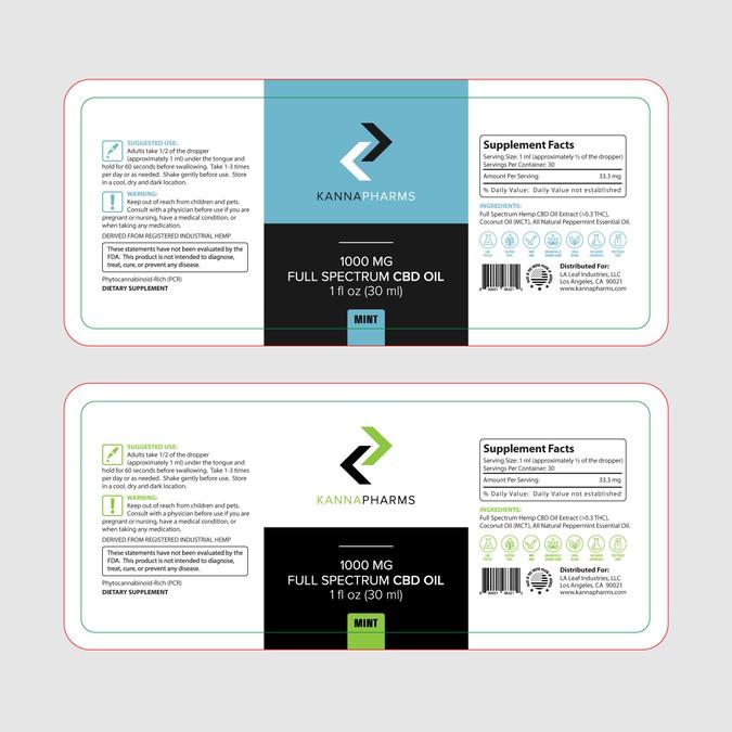 Winning design by Label Designer