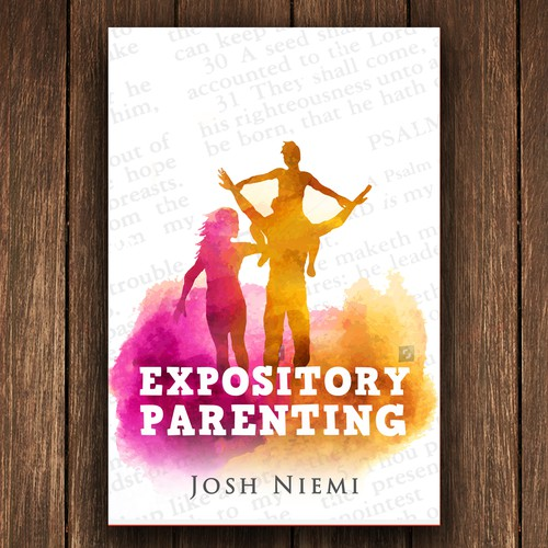 Simple Book Cover Up : Design a simple book cover for christian parenting